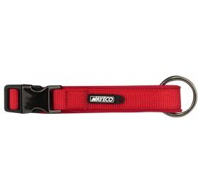 Collar de Neopreno Rojo para Perros Nayeco