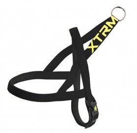 Arnés Negro para Perros X-Trm Neon Flash