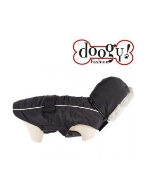 Abrigo especial Bulldog Softy Doggy Negro