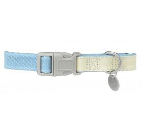 Collar Perros MacLeather Cotton Azul