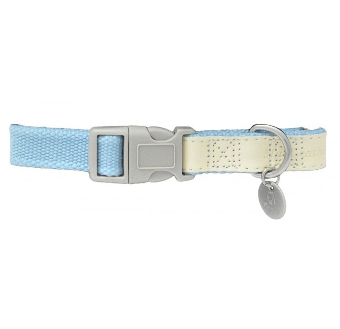 Collar Perros MacLeather Cotton Azul