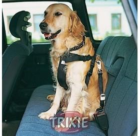 Arnés para perro con cinturón de seguridad para el coche