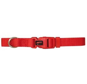 Collar Basic para perros Nylon Rojo