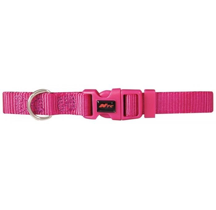 Collar Basic para perros Nylon Fucsia