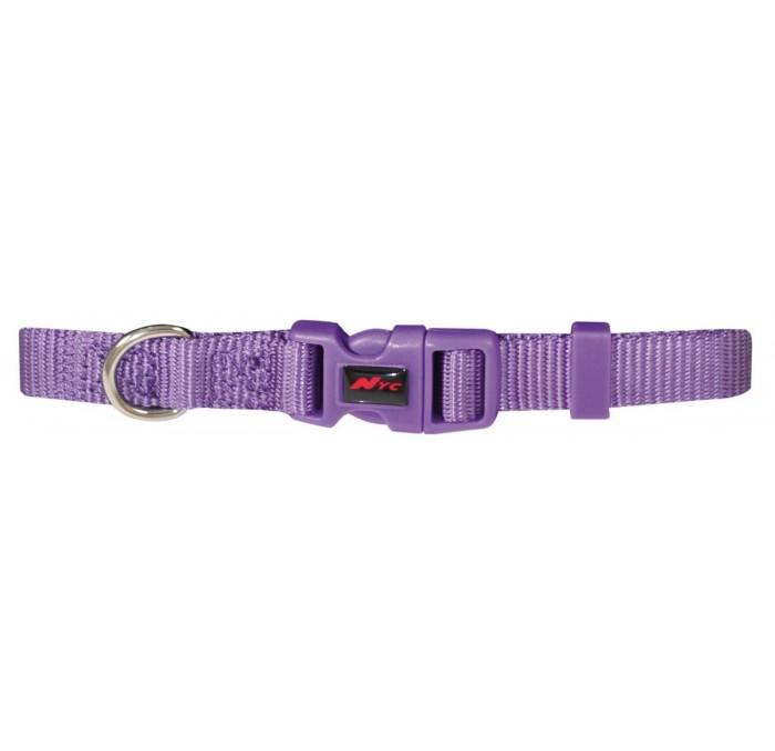 Collar Basic para perros Nylon Lila