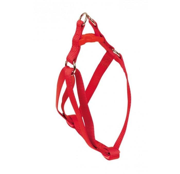 Arnés Basic de Perros Nylon Rojo Nayeco