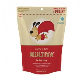 Multiva Active Dog, 45 Premios Chews