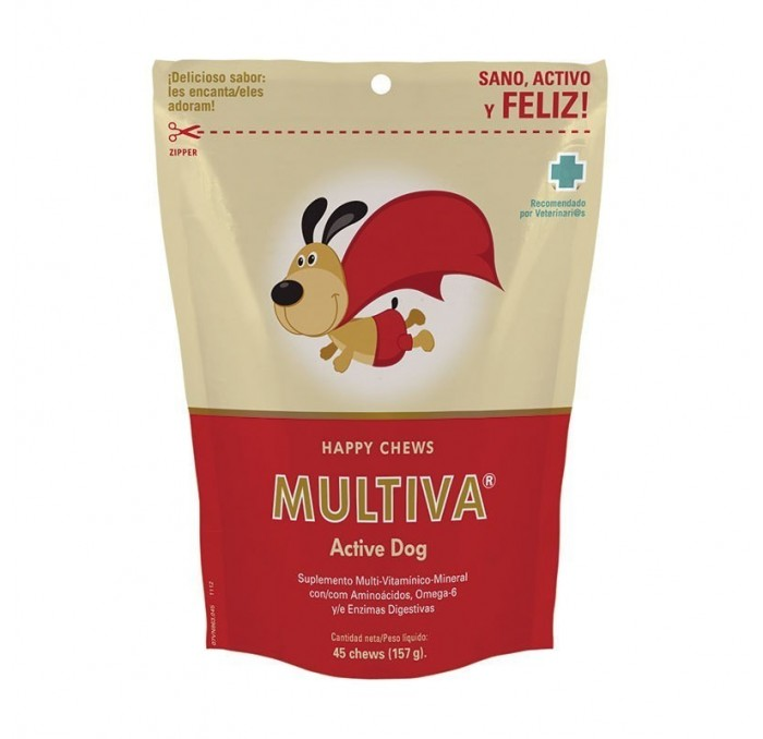 Multiva Active Dog, 45 Premios Chews
