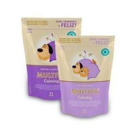 Multiva Calming para Perros Medianos y Grandes, 21 Chews