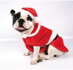 Disfraz para perro Papa Noel