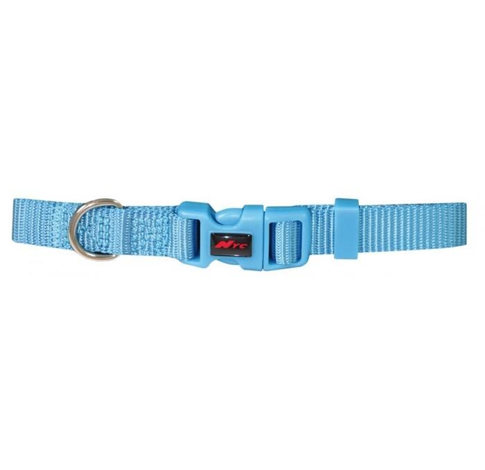 Collar Basic para perros Nylon Azul