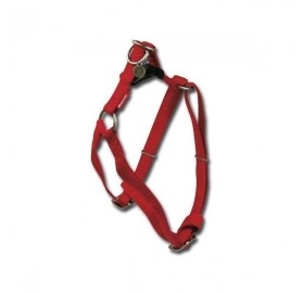 Arnés para Perros Mac Leather Rojo