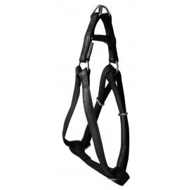 Arnés para Perros Mac Leather Negro