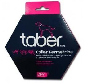 Taber dog collar antiparasitario para perros, con permetrina