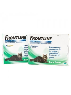 Frontline Pipeta Spot On para Gatos