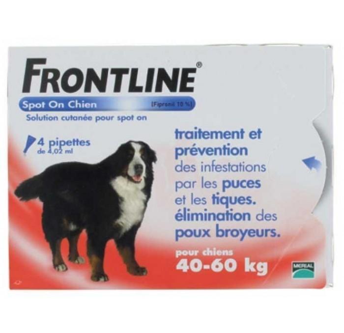 Frontline Spot On perros más de 40kg, 3 pipetas