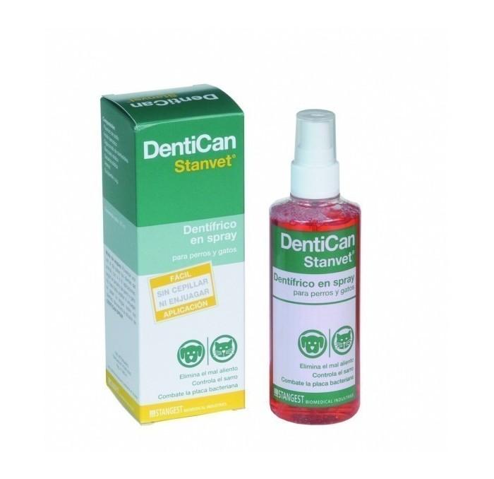 Dentican spray dentífrico para perros y gatos, 125ml