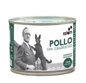 Latas para perros Pollo con Zanahorias Retorn, 185gr
