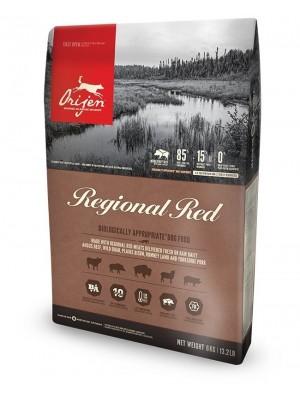 Orijen Regional Red con carne roja
