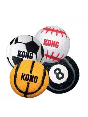 Pack de 3 Pelotas Kong Ball Sport