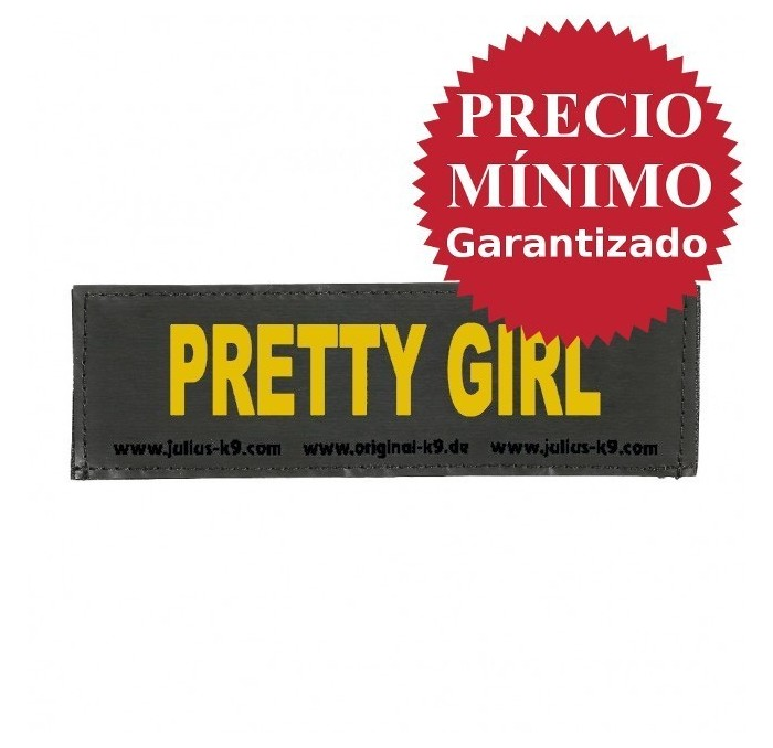 Etiqueta Velcro Julius K9 Pretty Girl talla S