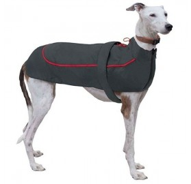 Chubasquero para Perros X-TREK rojo