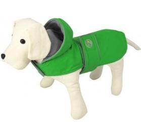 Impermeable para Perros Dancing Rain verde