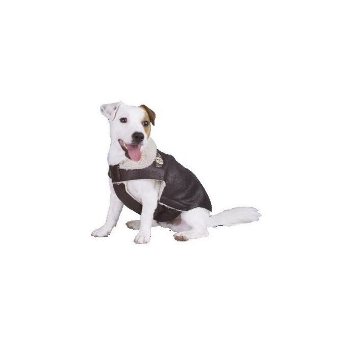 Chaqueta para Perros Aviador Marrón Doggy