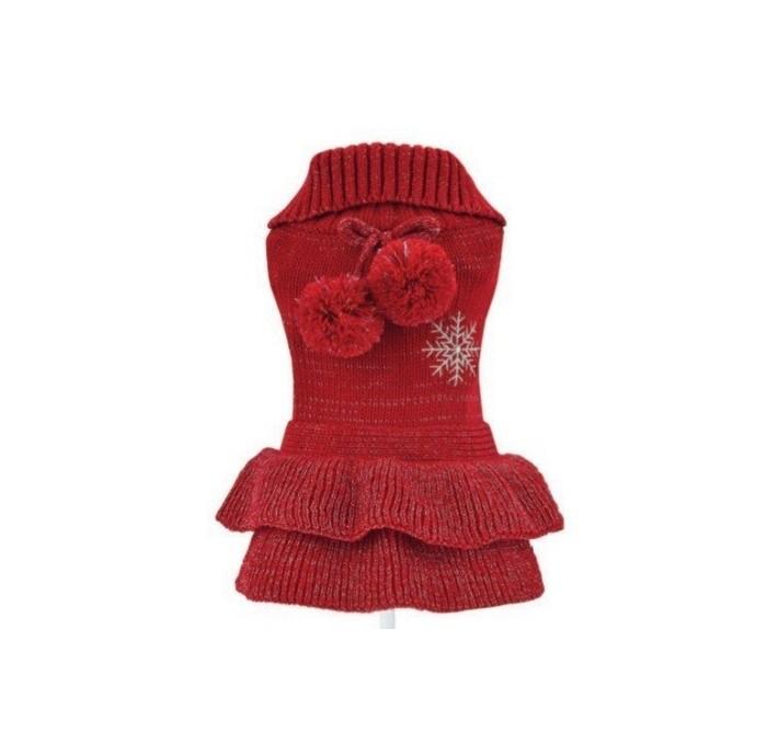 Vestido para Perrita punto Lady Santa