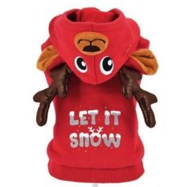 Sudadera para Perro Reno Let It Snow