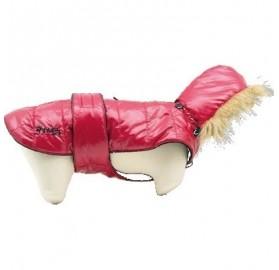 Capa Plumas para Perros EasyFit Rojo