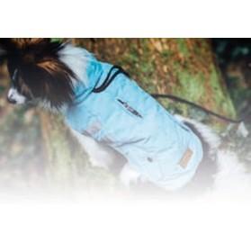 Abrigo Reflectante para Perro Flashy Azul