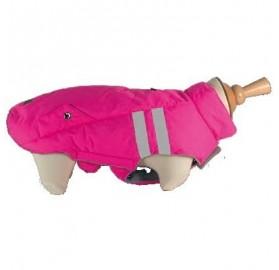 Abrigo Reflectante para Perro Flashy Rosa