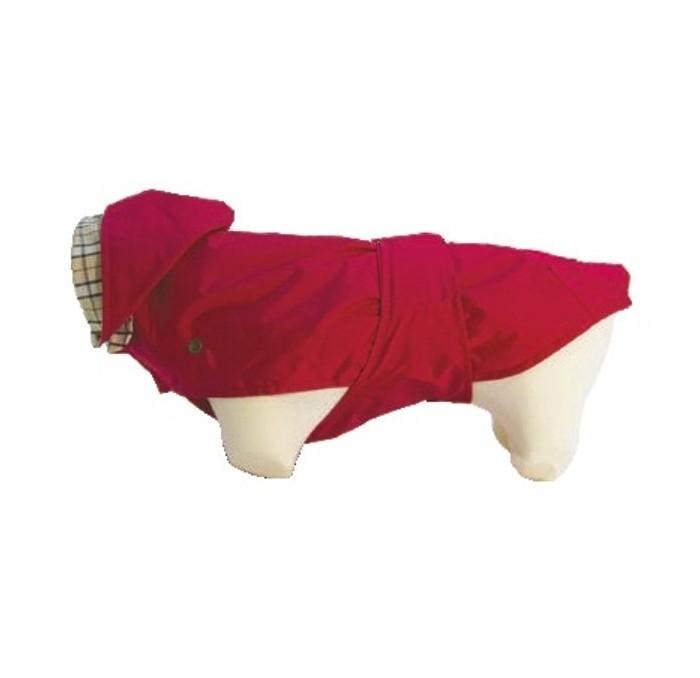 Impermeable de Perros Rojo Tonga New Generation