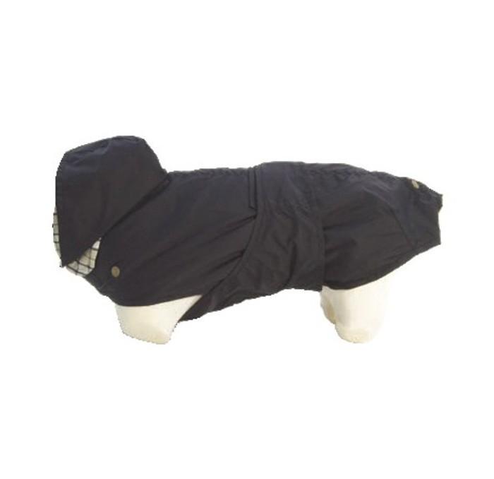 Impermeable de Perros Negro Tonga New Generation