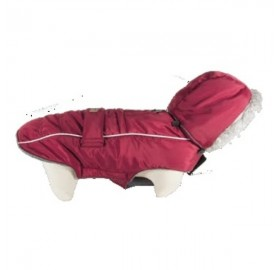 Abrigo para Perro Softy Rojo