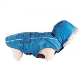 Abrigo para Perro Softy Azul