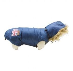 Abrigo Perro Azul Union Jack