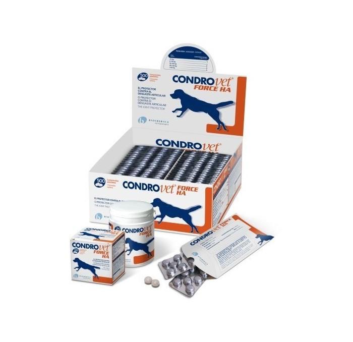 Condrovet Force HA Perros Comprimidos Bioiberica