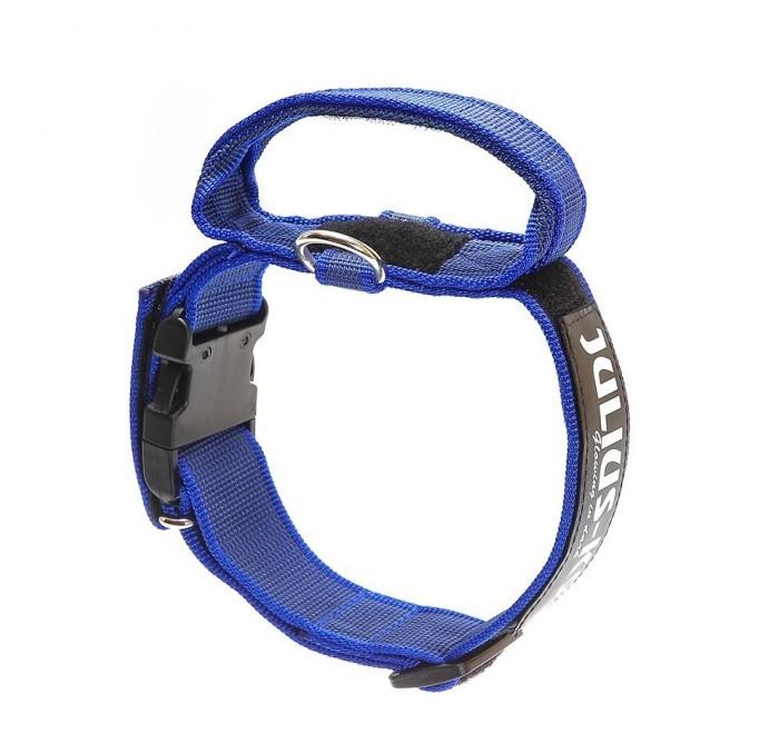 Collar con Asa Engomado Azul Julius K9 para Perro