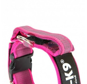 Collar con Asa Engomado Rosa Julius K9 para Perro