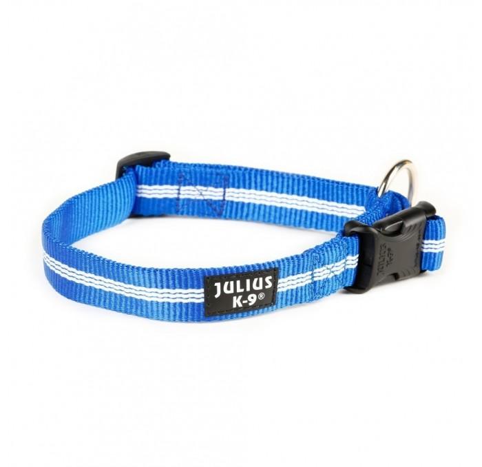 Collar para Perros Julius K9 Azul Tubular IDC