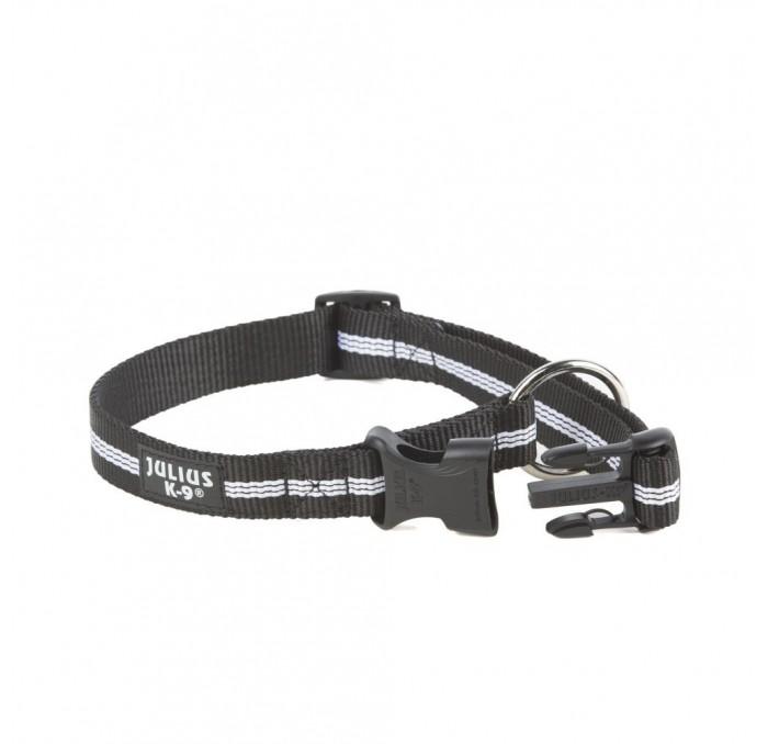 Collar para Perros Julius K9 Negro Tubular IDC