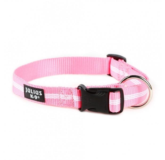 Collar para Perros Julius K9 Rosa Tubular IDC