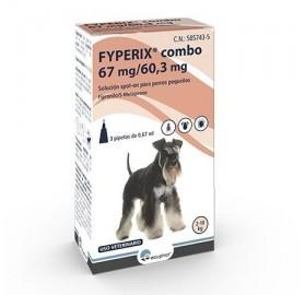 Fyperix Combo Perros 2-10kg Pipetas Ecuphar