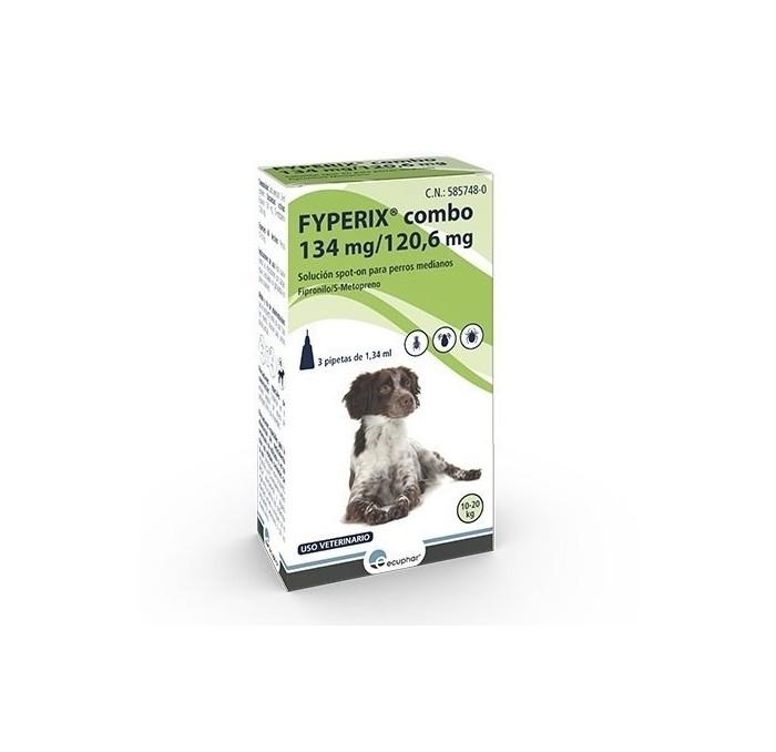 Fyperix Combo Perros 10-20kg Pipetas Ecuphar