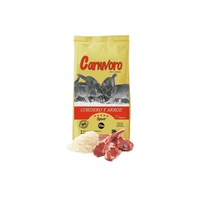 Pienso Carnivoro Sport Cordero y Arroz