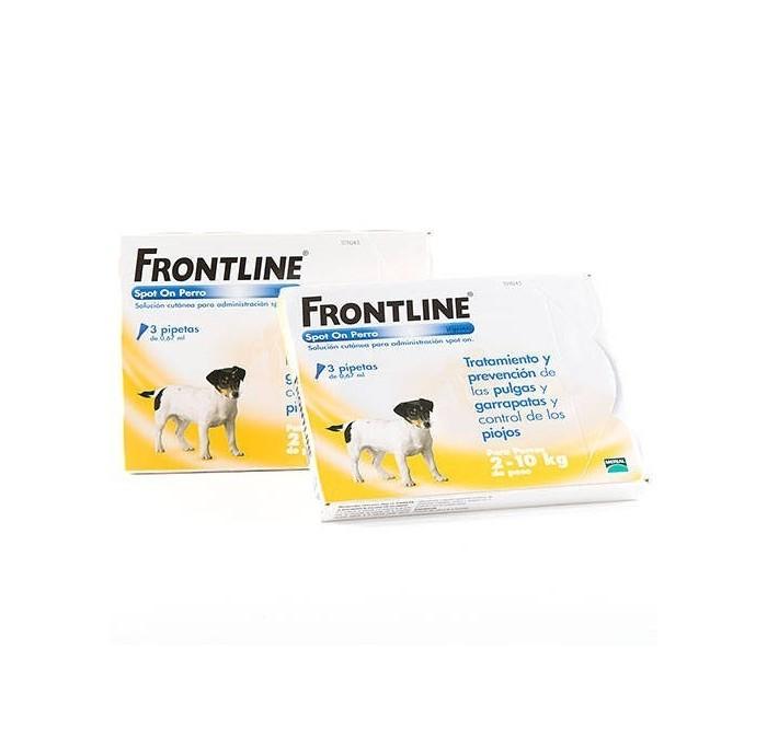 Frontline Pipeta Spot On para Perros 2-10kg