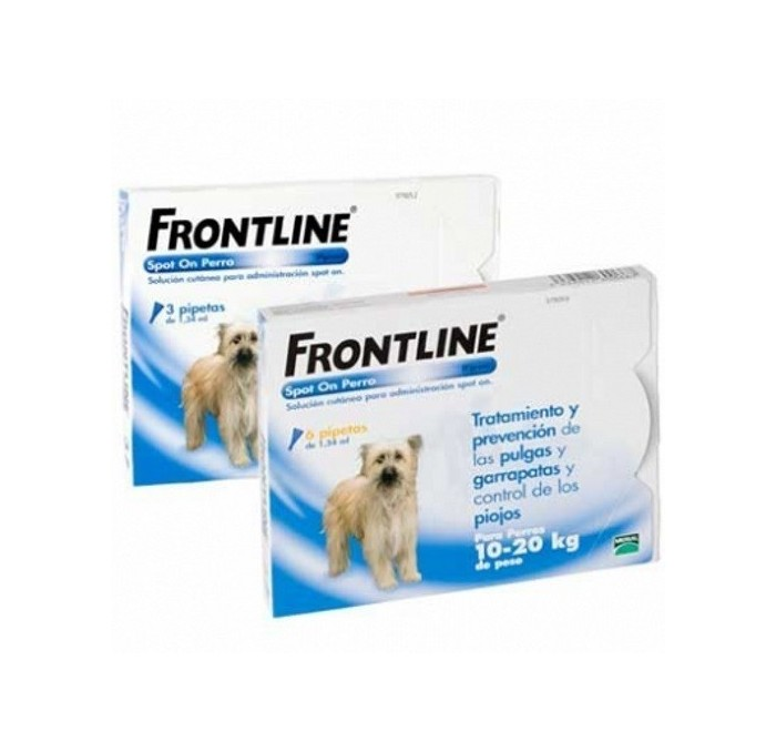 Frontline Pipeta Spot On para Perros 10-20kg