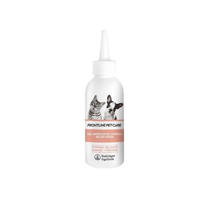 Frontline Limpiador de Oídos Gel Antiolor, 125ml